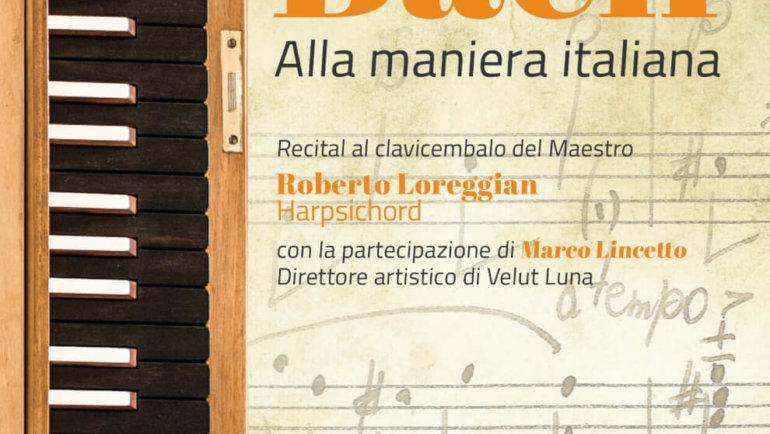J.S. Bach, recital al clavicembalo