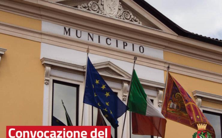 Convocazione Consiglio comunale, 29 aprile 2019
