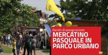 Bando per mercatino pasquale in Parco Urbano