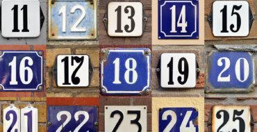 Regolarizzazione numeri civici mancanti