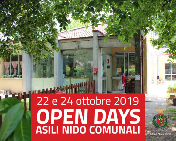 Open Days nidi comunali