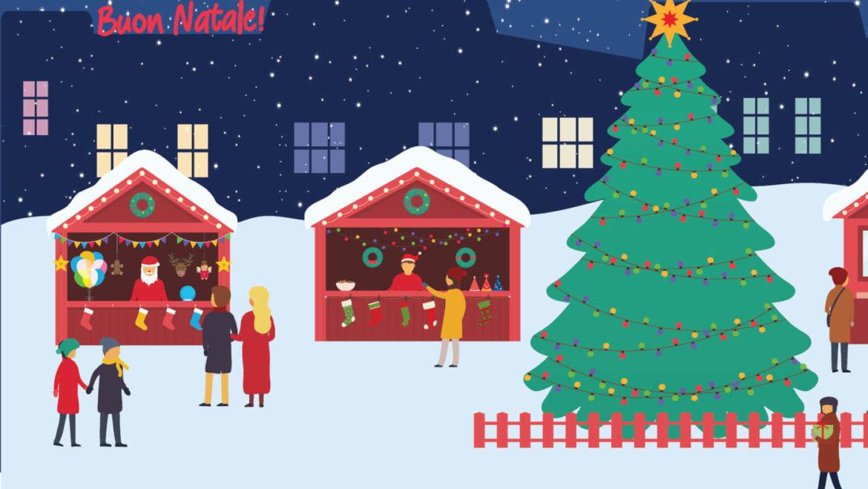 Calendario natalizio mercato settimanale