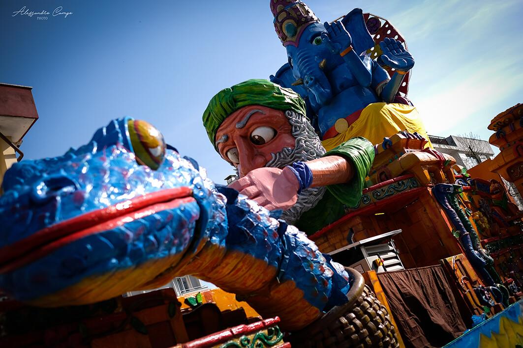 Abano Street Carnival, bando per carri allegorici
