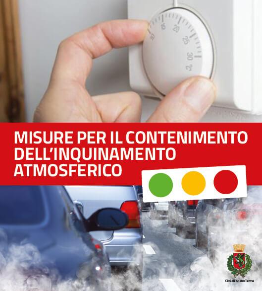 Ordinanza per il contenimento dell'inquinamento atmosferico
