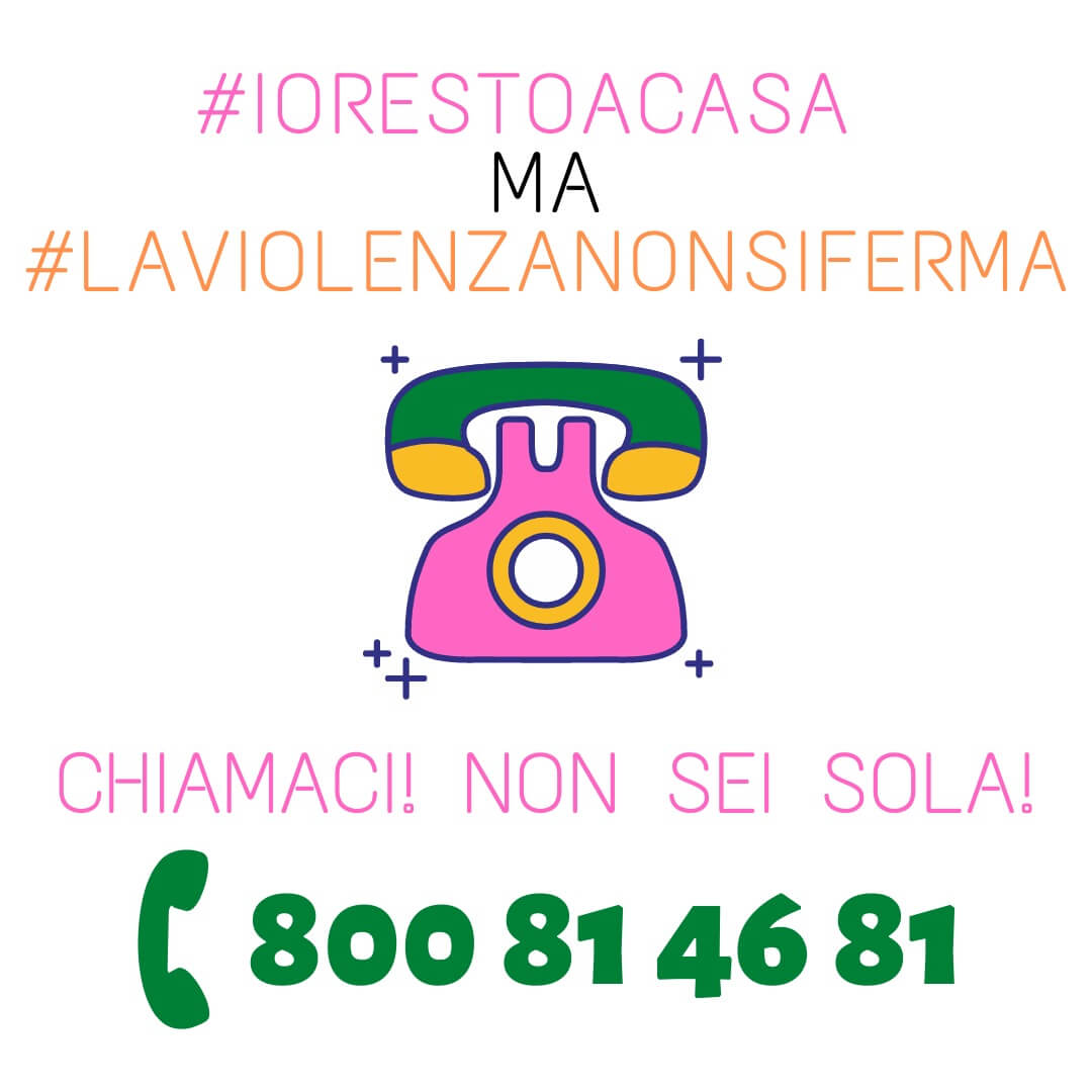 Covid-19, Sportello Antiviolenza attivo telefonicamente