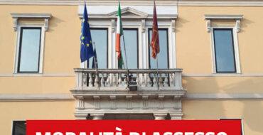 Municipio di Abano Terme - Informazioni su modalità di accesso agli uffici comunali