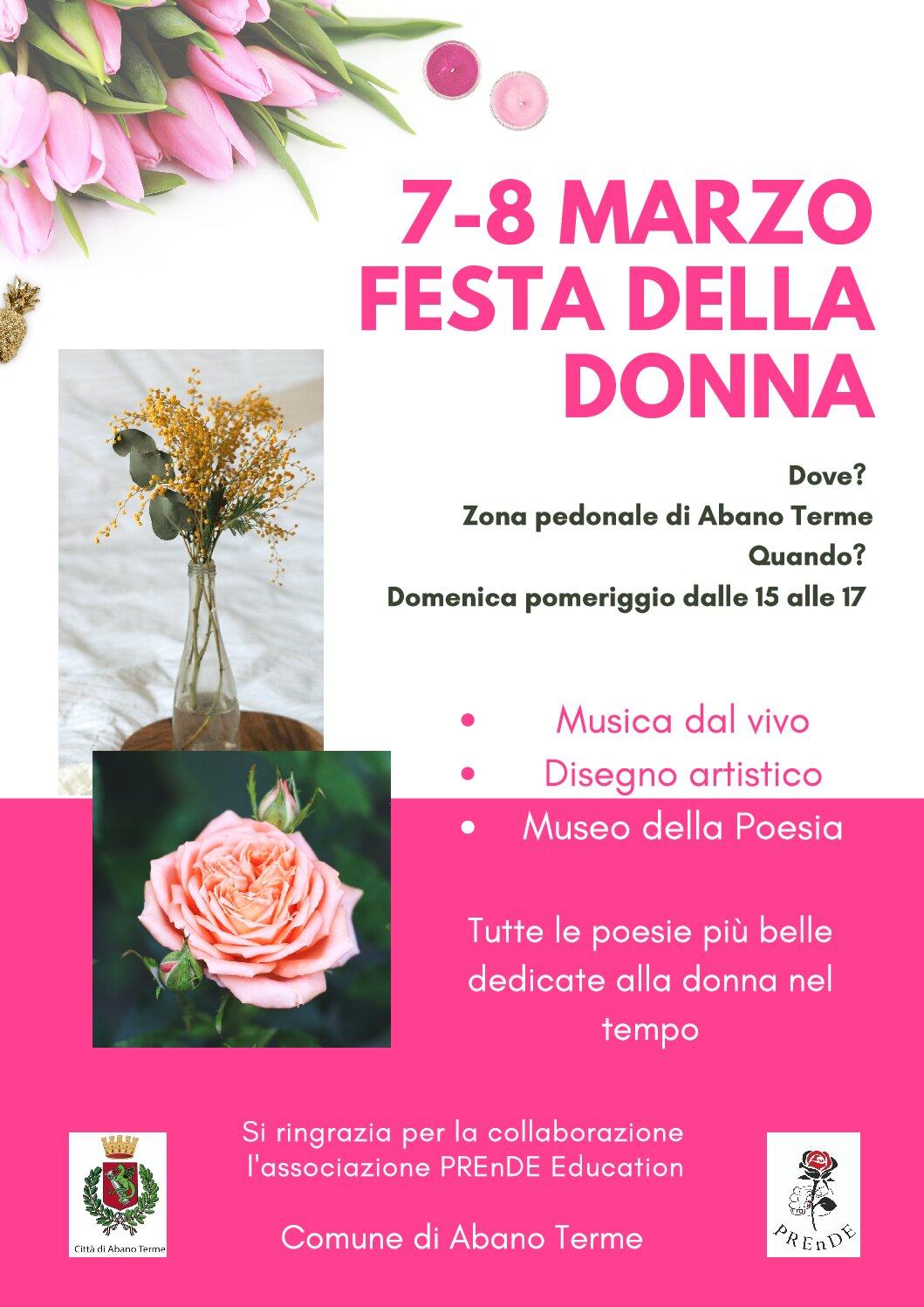 FESTA DELLA DONNA 8 MARZO 2021