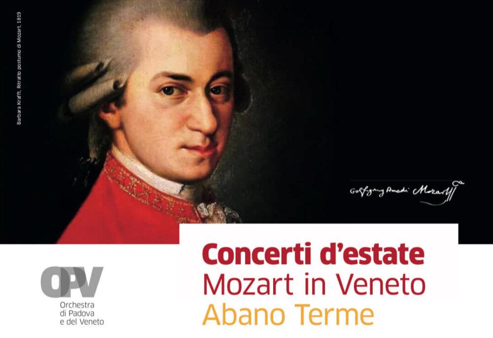 Concerti d'estate Mozart in Veneto Abano Terme