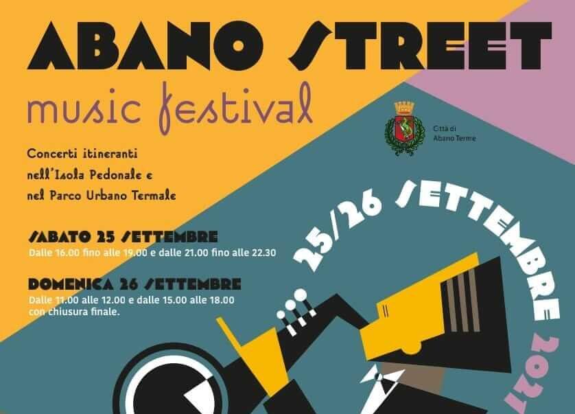 ABANO STREET MUSIC FESTIVAL 2021